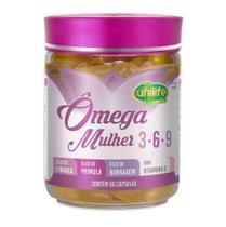 Ômega Mulher 3-6-9 60 cápsulas Unilife Vitamins -