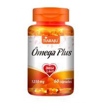 Omega Plus Omega 3, 6 e 9 1250mg com 60 cápsulas Tiaraju -