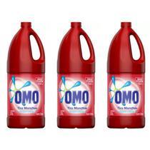 Omo Roupas Coloridas Tira Manchas 2 L (Kit C/03) -