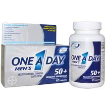 One a day silver homem 50+ 65 cápsulas - bayer -