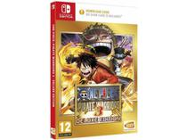 One Piece Pirate Warriors 3 Deluxe Edition (Sem cartucho) - Nintendo Switch - Bandai Namco