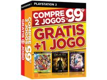 One Piece Unlimited World Red + Deus Ex: Human - Revolution + Tales of Xillia 2 para PS3 Ecogames