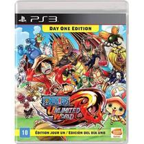One Piece Unlimited World Red - PS3 - Bandai Nanco