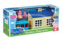 Onibus escolar da Peppa, 21 cm - Dtc -
