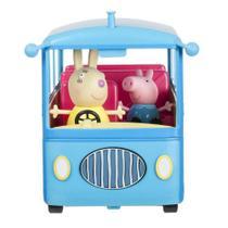 Ônibus Escolar Peppa Pig com Som - DTC 4606 -