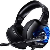 Onikuma K6 Gaming Headset Redução De Ruído Stereo Rgb Luz -