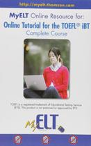 Online tutorial for the toefl ibt - Cengage elt