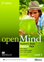 Open mind 1 sb premium pack - 2nd ed - Macmillan