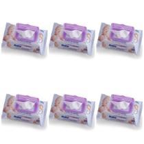 Opus Baby Poppy Premium Fliptop Toalhas Umedecidas C/96 (Kit C/06) -