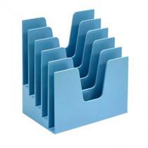 Organizador de Documentos 5 Divisões Azul Acrimet -
