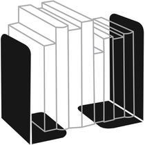 Organizador de Escritorio Suporte P/LIVROS Metal Preto - Emporio Santa Terezinha