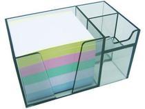 Organizador de mesa c/papel cores cor fume 956.1 - Acrimet