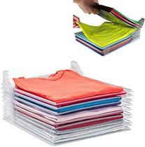Organizador De Roupas Camiseta Camisa Guardar Dobrado 10 Divisorias - Sm