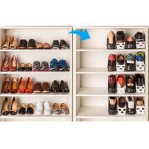 Organizador de Sapatos Com Regulagem Branco 9cm-Ordene -