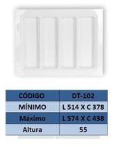 Organizador de talher ajustável  Medidas máximas: 574mm X 438mm) OG-102 - Moldplast
