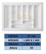 Organizador de talher ajustável  Medidas máximas: 660mm X 460mm) OG-145 - Moldplast
