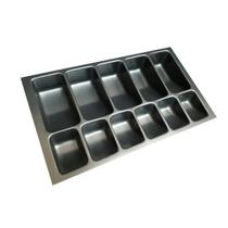Organizador Divisor Porta Notas Moedas Dinheiro Cédulas 12150 44x26cm Preta Magnum Industrial -