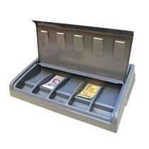 Organizador Divisor Porta Notas Moedas Dinheiro Cédulas com Tampa 53,5x39cm 21.128 Magnum Industrial -