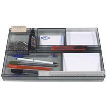 Organizador interno de gaveta menno grafite -