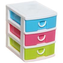 Organizador Mini Gaveteiro De Plástico Multiuso Porta Treco - Imp