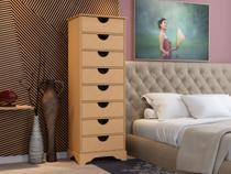 Organizador Multiuso Enfeite Sala Quarto Madeira MDF 8 Gavetas Decoração - Arte moderna decor