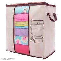 Organizador para Closet 60x41x36 cm Bege Secalux -
