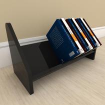 Organizador para livros preto - E-Nichos