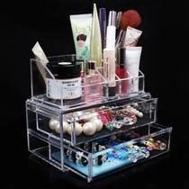 Organizador Porta Maquiagem Blush Perfume Luxo Acrilico - Clink