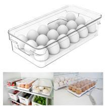 Organizador Porta Ovos Com Tampa Geladeira Clear Fresh - OF 100 Ou -