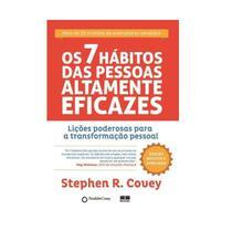 Os 7 Hábitos Das Pessoas Altamente Eficazes + Capa Dura - Edição Exclusiva Saraiva - Best seller -