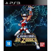 Os Cavaleiros do Zodíaco Batalha do Santuário - PS3 - Bandai