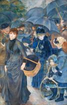 Os Guarda-Chuvas - Pierre-Auguste Renoir - Tela 30x78 Para Quadro - Santhatela