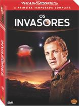 Os Invasores: A Primeira Temporada Completa - DVD - Mixx Filmes E Séries