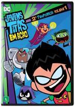OS JOVENS TITÃS EM AÇÃO 2ª TEMPORADA VOL.1 - DVD - Warner