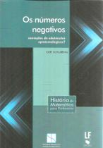 Os Números Negativos. Exemplos de Obstáculos Epistemológicos? - Livraria da física -