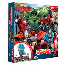 Os Vingadores Quebra Cabeça Grandão 120 Peças - Toyster -
