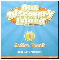 Our discovery island 1 active teach cd-rom - 1st ed - Pearson -