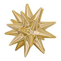 Ouriço de Cerâmica Dourado 11cm 8719 Mart -