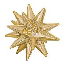Ouriço Dourado em Cerâmica  8722 Mart -