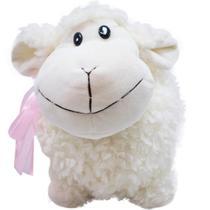 Ovelha Branca Laço 16cm - Pelúcia - Fofy Toys