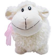 Ovelha Branca Laço 20cm - Pelúcia - Fofy Toys