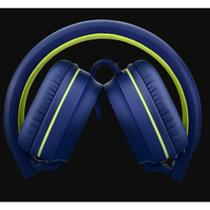 Over Ear Wired Stereo Áudio Pulse Verde PH162 -