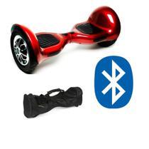 Overboard Skate Eletrico 10 Polegadas Vermelho Bluetooth - Led Center Comp