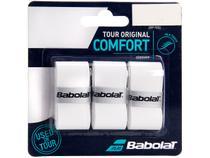 Overgrip Babolat Tour Original Comfort Branco - 3 Unidades