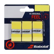Overgrip Babolat VS Original  Amarelo Com 03 Unidades -