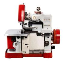 Overlock Semi Industrial-Sun Special Vermelha+Mesa 80 cm -