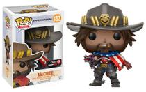 Overwatch Boneco Pop Funko Mccree 182 Gamestop -DUPLI