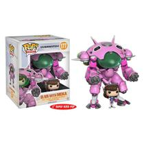 Overwatch - D.VA with Meka 177 6 Inches Funko Pop