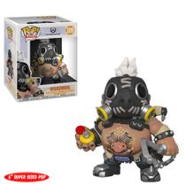 Overwatch Roadhog 6 - Funko Pop Boneco