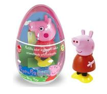 Ovo Com Boneco Peppa Pig  14cm Big Toy  Dtc 4452 Candy Fun -